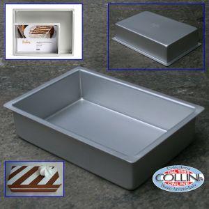 Decora - Rectangular professional aluminum pan 40x30x7,5cm