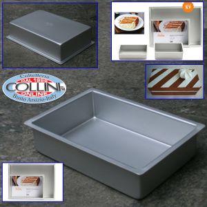 Decora - Rectangular professional aluminum pan 30x20x7,5cm