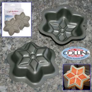 Stadter - 2 mini-stick cake tins - Star - pastry (Articles home)