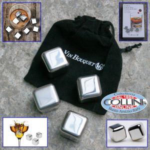 Vin Bouquet - Cubi in acciaio inossidabile - rinfrescatore alcolici (articoli casa)