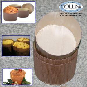 Decora - Forma in carta per cottura canasta/ panettone 5pz. da 500gr