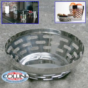 Giannini - Bread basket - stainless steel - Party