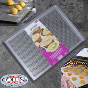 Patisse - Perforated baking  sheet non-stick - Silver Top