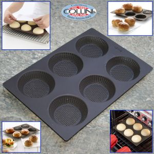 Lékué - Stampo per rosette di pane in silicone 6 pezzi