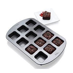 Wilton - non-stick plate 12 cavities - Brownie