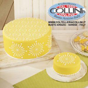 Birkmann - Stencils for cakes , mini cakes and plum cakes - 2 pieces