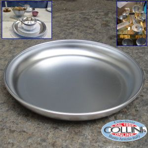 Made in Italy - Plate for mise en place in aluminum - cm 28