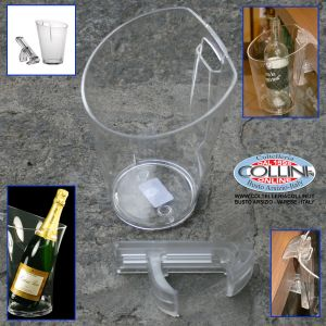 Made in Italy - Bucket with support for the table - sparkling wine