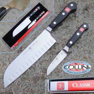 Wusthof Germany - Classic - Set 3 pezzi cucina - 9608 - coltello