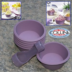 Lurch - Silicone molds for Cupcake - 6pz