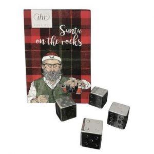 Schonhuber - Dadi refrigeranti in acciaio inox Hipster Santa