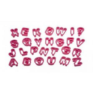 Decora - Alphabet cookie cutters - 27 pieces