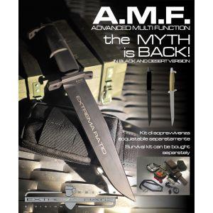 Extremaratio - A.M.F. Advanced Multi Function Black - AMF - Coltello