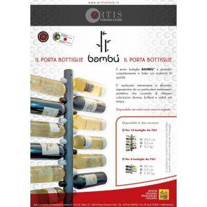 Artis - Bamboo Bottle holder 12 places
