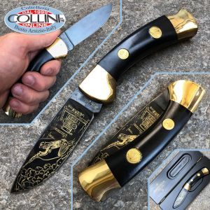 Boker - Black Gold Commemorative Miner knife 1992 - Limited Edition