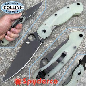 Spyderco - Military - Natural G-10 & CPM-M4 Black DLC - Exclusive Edition - C36GM4BK - Knife