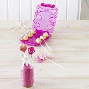 Birkmann - Cake Pops Maker romantici 6 pezzi - cuore