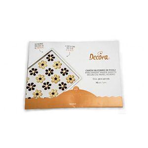 Decora - Parchment baking paper Sheets 25 pieces 30x40cm