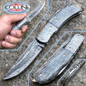 Sergio Consoli - Chiudibile in damasco con guance in avorio fossile