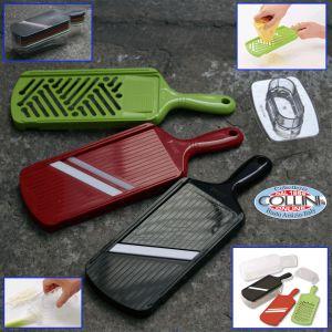 Kyocera - Set completo di mandoline-affettatrici con contenitore