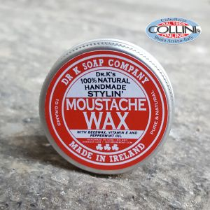 Dr. K Soap Company - moustache wax 15g - made in Ireland