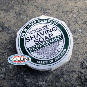 Dr K Soap Company - Shaving Soap - Peppermint - Made in Ireland