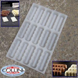Pavoni - Stampo per snack in silicone smerlato - Delicius Snack