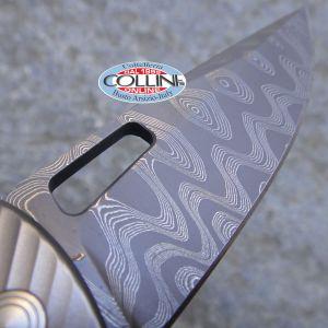 Lion Steel - TiSpine Grey Matte - TS-1GM - coltello