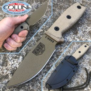 ESEE Knives - Esee 3P Desert MB-DE knife - coltello