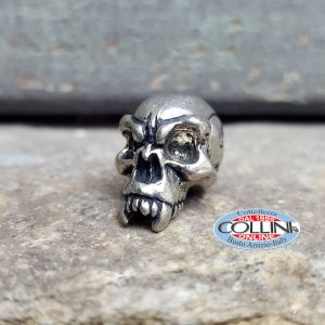 Schmuckatelli - Ciondolo Fermafilo - Emerson Skull Bead - Gadget