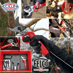 Felco - Power Assisted Pruning Shear - Felcotronic 820 + Powerpack 880