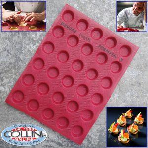 Pavoni - Tappetino microforato in silicone 38 x 30 cm. PROGETTO CRO