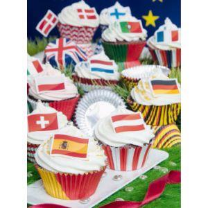 Städter - Sep paper muffin cups flag motif - England