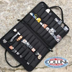 Fox - Custodia per 12 coltelli con Zip FODF4