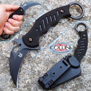 Fox - Fixed Blade Karambit - G10 Black - FX-598 - Coltello