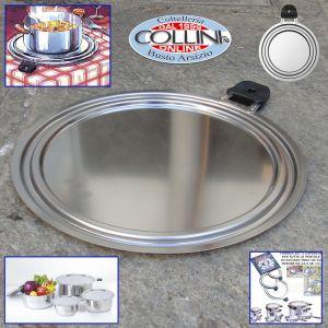 Le Creuset - Coperchio anti-spruzzo acciaio inox