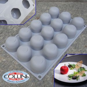 Pavoni - GALA silicone mold - 15 servings
