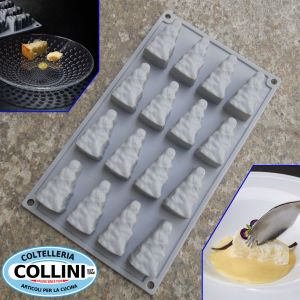 Pavoni - Silicone mold CHEESE by Davide Oldani 16 servings