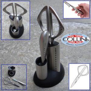 Global - G2210 - Set 2 pezzi forbice e coltello GK-210+G2