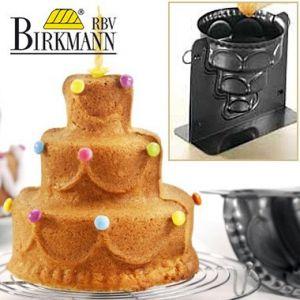 Birkmann - 3D baking mould - Happy Birthday