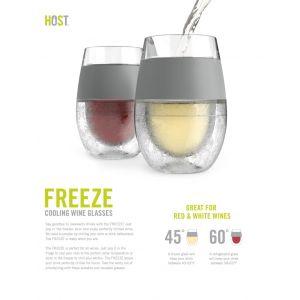 Host  - Host Freeze - set 2 bicchieri vino