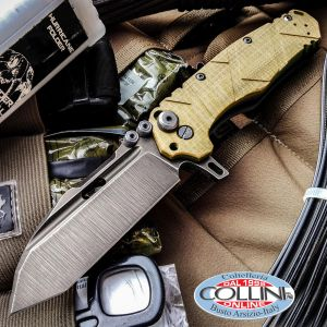 Wander Tactical - Hurricane TI Folder - Desert Micarta - coltello chiudibile