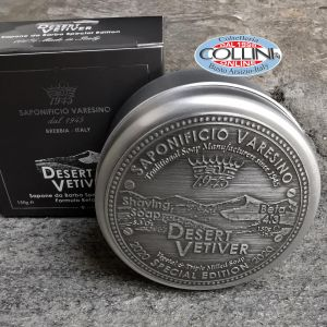 Saponificio Varesino - Desert Vetiver - Shaving Soap 150g - Made in Italy