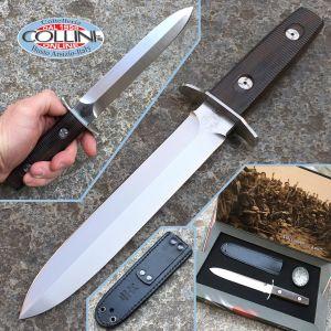Fox - Arditi Dagger knife collection box - Single edge - FX-595W - knife
