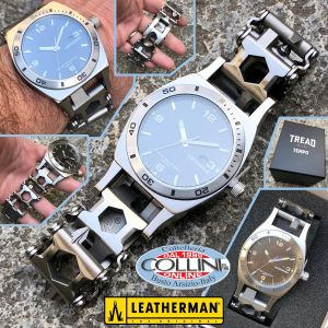 Leatherman - Tread Tempo, watch and multi-use bracelet - Stainless - 832421
