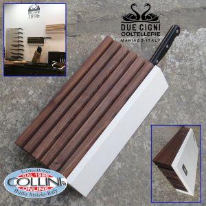 Due cigni  - 7X2 Wall Knife Block