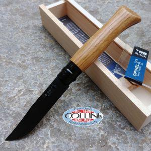Opinel - 8 stainless steel - Black Edition in Oak - 002172 - knife