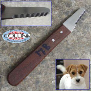 Collini  - Pet Stripping Knife 7B, Short, Extra Fine