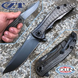 Zero Tolerance - R.J. Martin Folder Titanium - Sprint Run - ZT0609BLK - knife