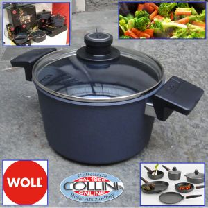 Woll - Diamond Lite  24 cm Pot with lid and 2 handles - induction